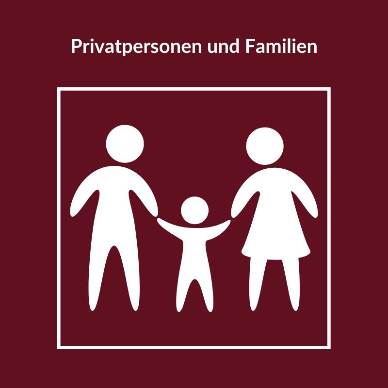 Privatpersonen und Familien